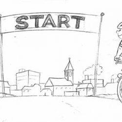 Illustration Stopi Roue libre
