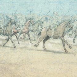 Artwork chevaux bd Stopi