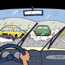 Illustration sécurité routière auto