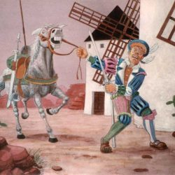 Illustration Don Quichotte