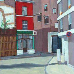 Peinture paysage Liège
