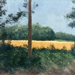 Peinture paysage Boussu-lez-Walcourt