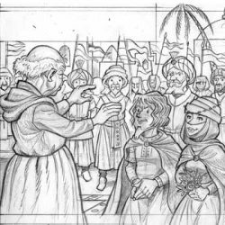 Mariage de Gillion et Graciane