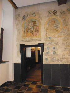 La fresque de la salle des chevaliers